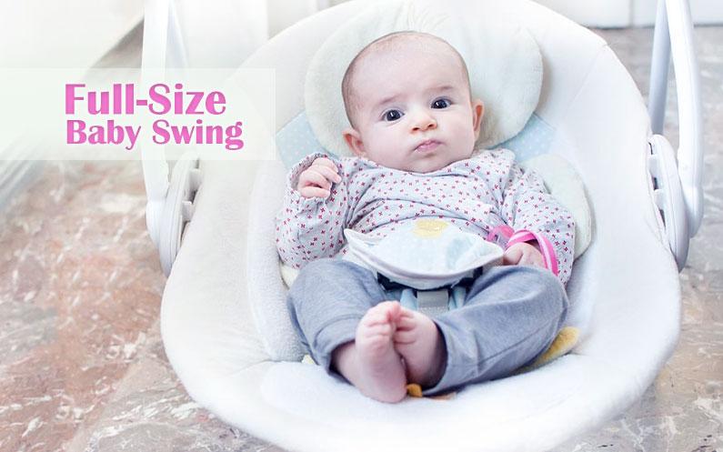 big baby swing